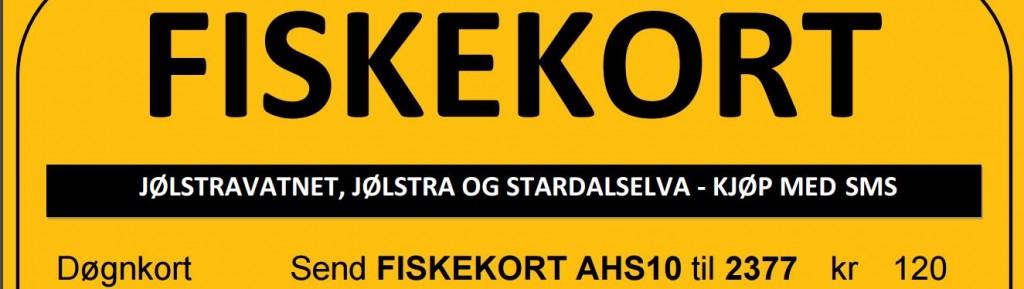 Ny fiskekort plakat