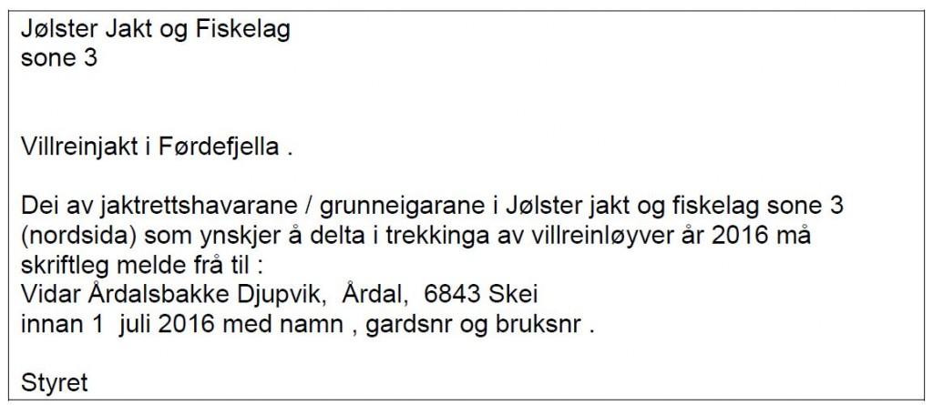Villreinjakt i Førdefjella